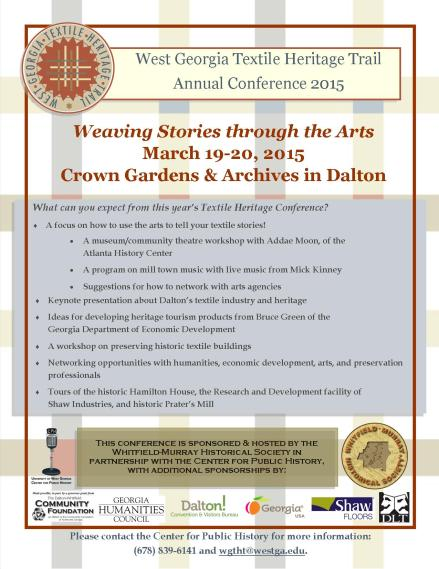 Save the date conference flyer